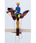 TEMPMORARILY OUT OF STOCK - Wolfgang Werner Toy Fuchs Blauer Reiter