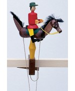 TEMPORARILY OUT OF STOCK - Wolfgang Werner Toy Rappen Roter Reiter