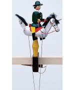 TEMPORARILY OUT OF STOCK - Wolfgang Werner Toy Pendelreiterin Frau Gruen