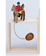 TEMPORARILY OUT OF STOCK - Wolfgang Werner Toy Wackelreiter Wiggling Rider