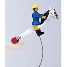 TEMPORARILY OUT OF STOCK - Wolfgang Werner Toy Schaukelpferd Large