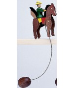 TEMPORARILY OUT OF STOCK - Wolfgang Werner Toy Wiggling Rider Large
