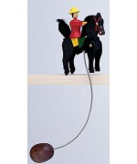 TEMPORARILY OUT OF STOCK - Wolfgang Werner Toy Large Wiggling Rider