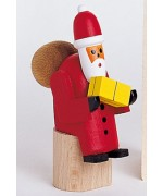 TEMPORARILY OUT OF STOCK - Wolfgang Werner Toy Sitting Santa Claus