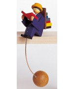 TEMPORARILY OUT OF STOCK - Wolfgang Werner Toy Bookworm Blue