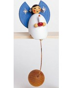 TEMPORARILY OUT OF STOCK - Wolfgang Werner Toy Angel with Candle