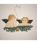Barockengel Raphael Christmas Pewter Wilhelm Schweizer