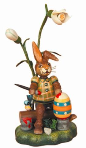 Hasenmax der Farbenkunstler Original HUBRIG Wooden Figuren - TEMPORARILY OUT OF STOCK