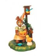 Kueckenliesel Original HUBRIG Wooden Figuren