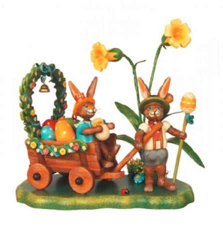 Auf zur Fruhlingswiese Original HUBRIG Wooden Figuren
