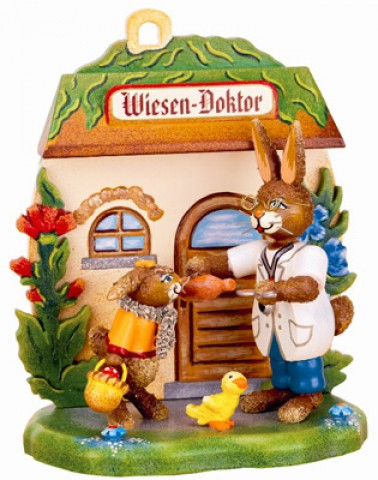 Wiesen-Doktor' Original HUBRIG Wooden Figuren