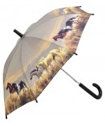 TEMPORARILY OUT OF STOCK - Kid's Umbrella  Wild Horses