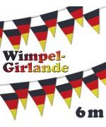 German - Wimpel Girland
