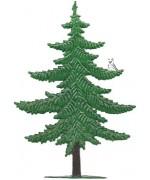Wilhelm Schweizer Pewter Summer Pine Tree