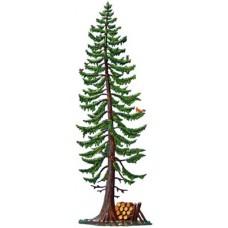 Fichte Tree Standing Pewter Wilhelm Schweizer