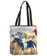 TEMPORARILY OUT OF STOCK - Wild Horses Tote Bag