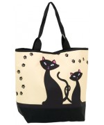 "TEMPORARILY OUT OF STOCK - ""Black Cats"" Tote Bag"