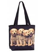 TEMPORARILY OUT OF STOCK -  Puppies  Tote Bag