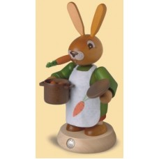 Mueller Smokerman Erzgebirge Female Easter Bunny