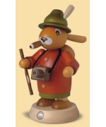 TEMPORARILY OUT OF STOCK Mueller Smokerman Erzgebirge Easter Bunny Tourist