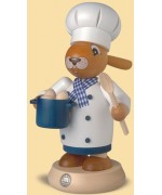 Mueller Smokerman Erzgebirge Easter Bunny Chef - Koch