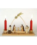 TEMPORARILY OUT OF STOCK <BR><BR>  Nativity Candle Arch (Sternbogen)