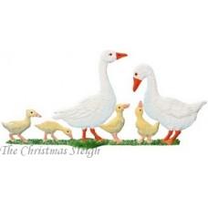 White Goose Family Wilhelm Schweizer