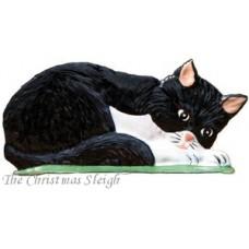 Cat Laying Down  Wilhelm Schweizer