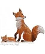 Wilhelm Schweizer Winter Fox Mama