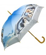 "Motif Umbrella  ""Dogs on Tour"""