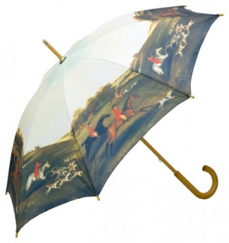 "TEMPORARILY OUT OF STOCK - Motif Umbrella  ""Fox Hunt"""