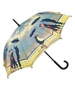 "TEMPORARILY OUT OF STOCK - Motif Umbrella  Jack Vettriano  ""Singing Butler"""