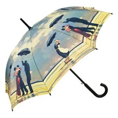 "TEMPORARILY OUT OF STOCK - Motif Umbrella  Jack Vettriano  ""Singing Butler"""