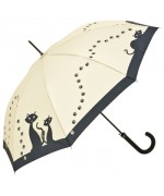 Motif Umbrella Black Cats