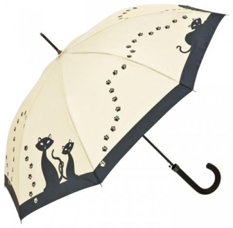 Motif Umbrella Black Cats