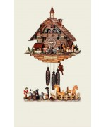 TEMPORARILY OUT OF STOCK Hubert Herr Cuckoo-Clock Black Forest smithy