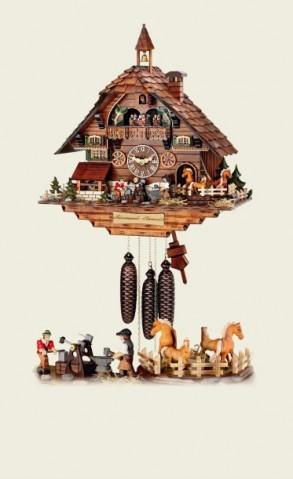 Hubert Herr Cuckoo-Clock Black Forest smithy