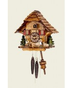 TEMPORARILY OUT OF STOCK Hubert Herr Cuckoo-Clock Beer drinkers - Beer garden