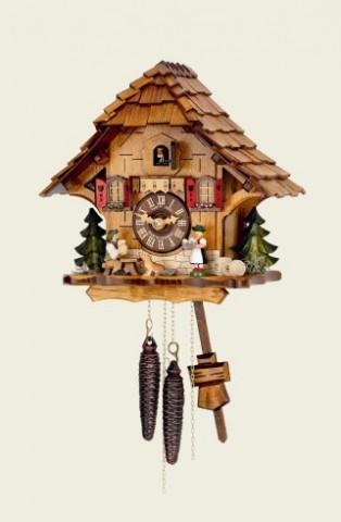 Hubert Herr Cuckoo-Clock Beer drinkers - Beer garden