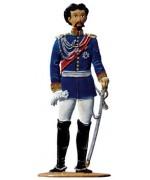 Ludwig II Koenig von Bayern Standing Pewter Wilhelm Schweizer