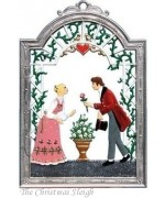 Bride and Groom Window Wall Hanging Wilhelm Schweizer