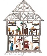 Craftsman House Window Wall Hanging Wilhelm Schweizer