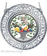 Fruit Basket Window Wall Hanging Wilhelm Schweizer