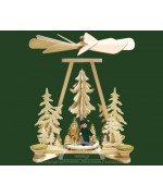 TEMPORARILY OUT OF STOCK <BR><BR> 'Forest Ranger' Pyramid RATAGS HOLZDESIGN