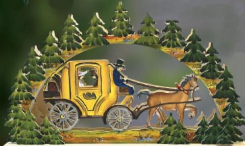 Schwibbogen - Mail Carriage
