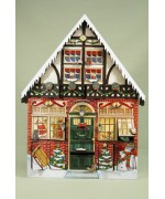 Byers Choice Advent Calendar Christmas House