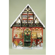 Byers Choice Advent Calendar Christmas House - TEMPORARILY OUT OF STOCK