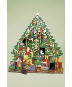 Byers Choice Advent Calendar Christmas Tree
