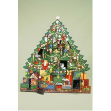 Byers Choice Advent Calendar Christmas Tree - TEMPORARILY OUT OF STOCK
