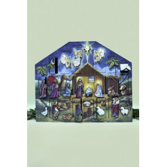 Byers Choice Advent Calendar Nativity